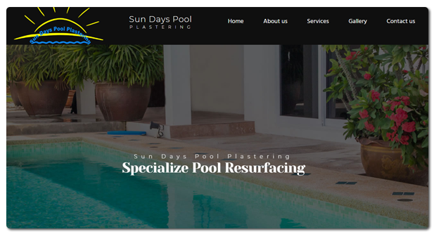 Sun Days Pool Plastering